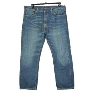 Levis 505 Mens 40x30 Straight Leg Relaxed Fit Jean